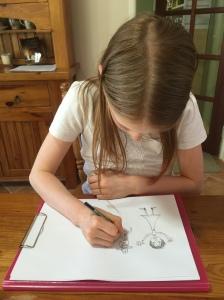 Beth drawing