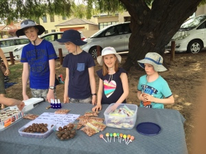 Fundraiser at homeschool group