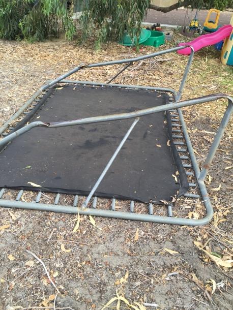 trampoline rust